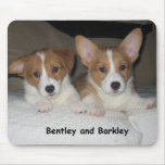 Bentley y Barkley Alfombrilla De Ratón