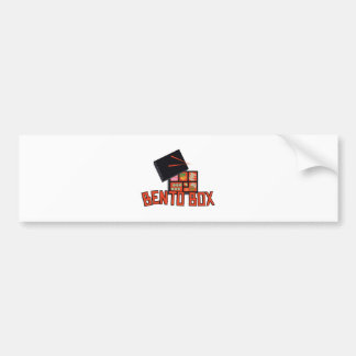 Bento Box Bumper Sticker
