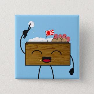 Bento-kun Pinback Button