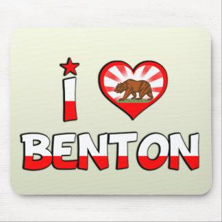Benton CA Alfombrillas De Raton