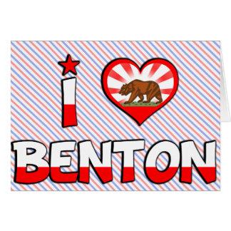 Benton CA Tarjetas