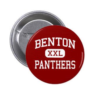 Benton - Panthers - High School - Benton Arkansas Button