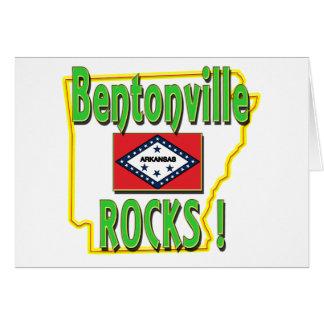 Bentonville Rocks ! (green) Card