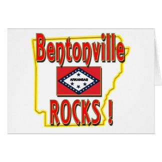 Bentonville Rocks ! (red) Card