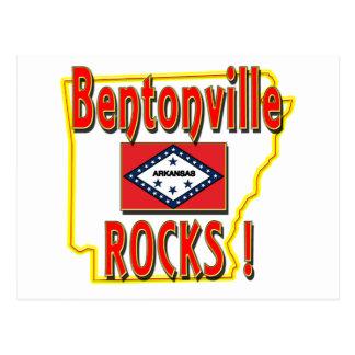 Bentonville Rocks ! (red) Postcard