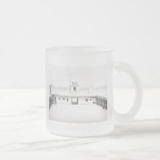 Bent's Fort Frosted Glass Mug