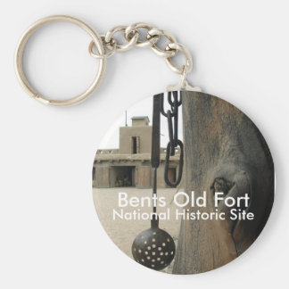Bents Old Fort Keychain