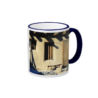 Bents Old Fort Peacock Coffee Mugs