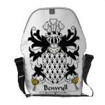 Benwyll Family Crest Messenger Bag