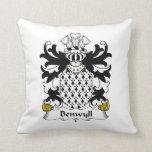 Benwyll Family Crest Pillows