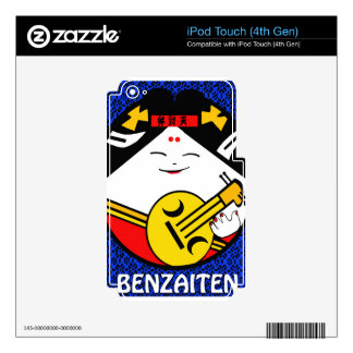 Benzaiten Japanese traditional Good Luck symbol Decal For iPod Touch 4G
