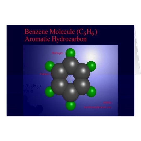 Benzene Molecule (card) Card