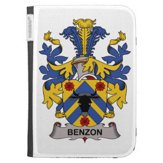 Benzon Family Crest Kindle 3G Cover