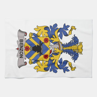 Benzon Family Crest Hand Towels