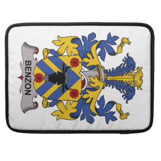 Benzon Family Crest Sleeve For MacBooks
