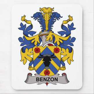 Benzon Family Crest Mousepads