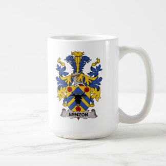 Benzon Family Crest Coffee Mugs