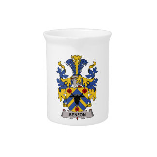 Benzon Family Crest Pitcher