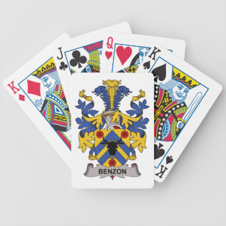 Benzon Family Crest Bicycle Card Deck
