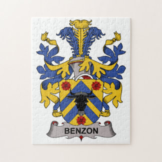Benzon Family Crest Jigsaw Puzzle
