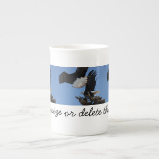 BEOAT Bald Eagles on a Treetop Tea Cup