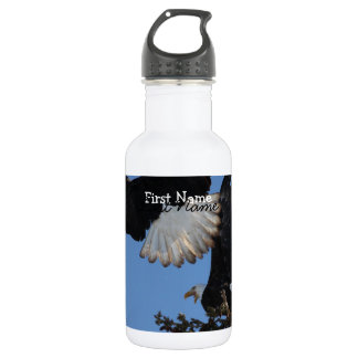 BEOAT Bald Eagles on a Treetop Stainless Steel Water Bottle