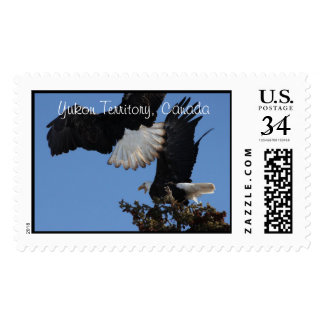 BEOAT Bald Eagles on a Treetop Stamp