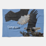 BEOAT Bald Eagles on a Treetop Towel