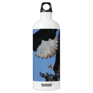BEOAT Bald Eagles on a Treetop Water Bottle