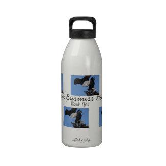 BEOAT Eagles calvo en una copa Botella De Agua Reutilizable