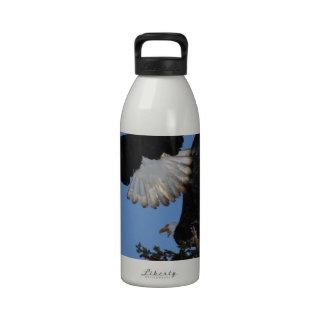 BEOAT Eagles calvo en una copa Botellas De Agua Reutilizables