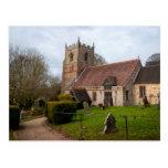 Beoley Church Postcard