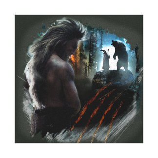 BEORN™ And Gandalf Graphic Canvas Print