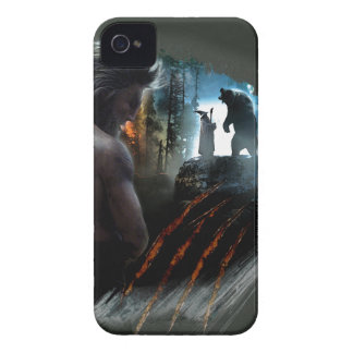 Beorn And Gandalf Graphic iPhone 4 Covers