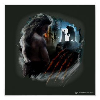 BEORN™ And Gandalf Graphic Poster