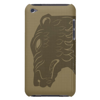 BEORN™  Bear Head Symbol Barely There iPod Case