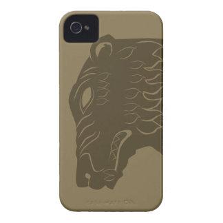 BEORN™  Bear Head Symbol Case-Mate iPhone 4 Case