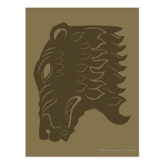 BEORN™  Bear Head Symbol Postcard