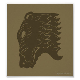 BEORN™  Bear Head Symbol Poster