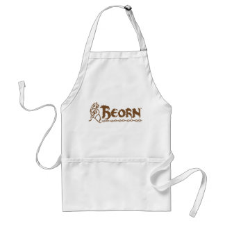 BEORN™ Bear Name Adult Apron