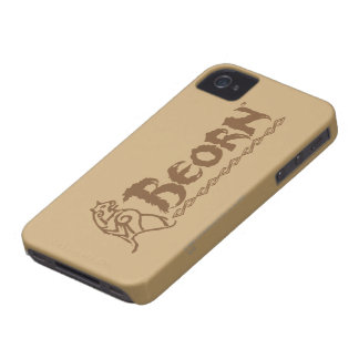 BEORN™ Bear Name iPhone 4 Cover
