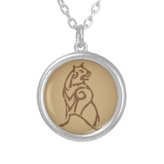 BEORN™  Bear Symbol Silver Plated Necklace