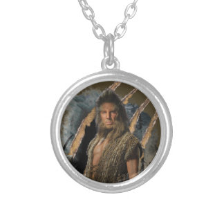 BEORN™ Graphic Silver Plated Necklace