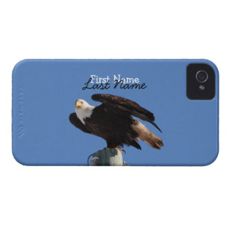 BEOUP Bald Eagle on Utility Pole Case-Mate iPhone 4 Case