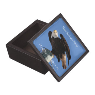 BEOUP Bald Eagle on Utility Pole Gift Box