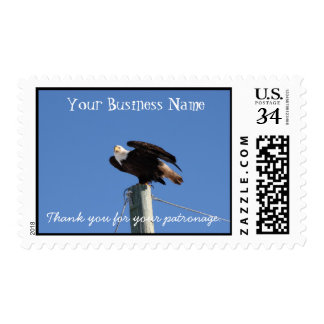 BEOUP Bald Eagle on Utility Pole Postage