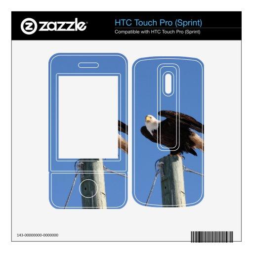BEOUP Eagle calvo en poste para uso general HTC Touch Pro Skins