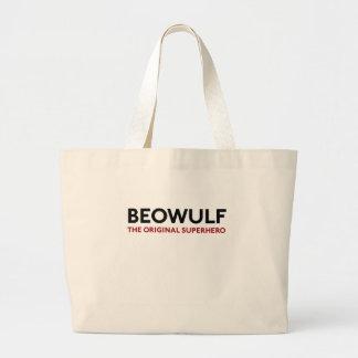Beowulf the Original Superhero Large Tote Bag