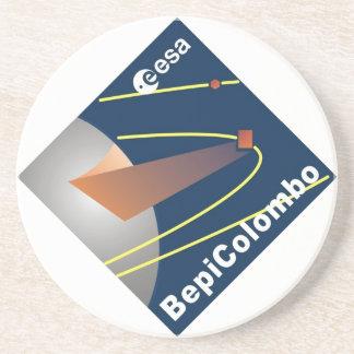 BepiColombo Sandstone Coaster