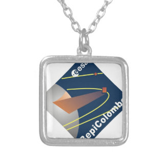 BepiColombo Silver Plated Necklace